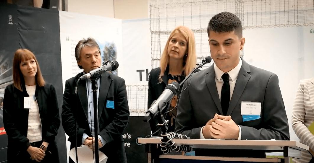 Matteo Cupi al Parlamento Europeo