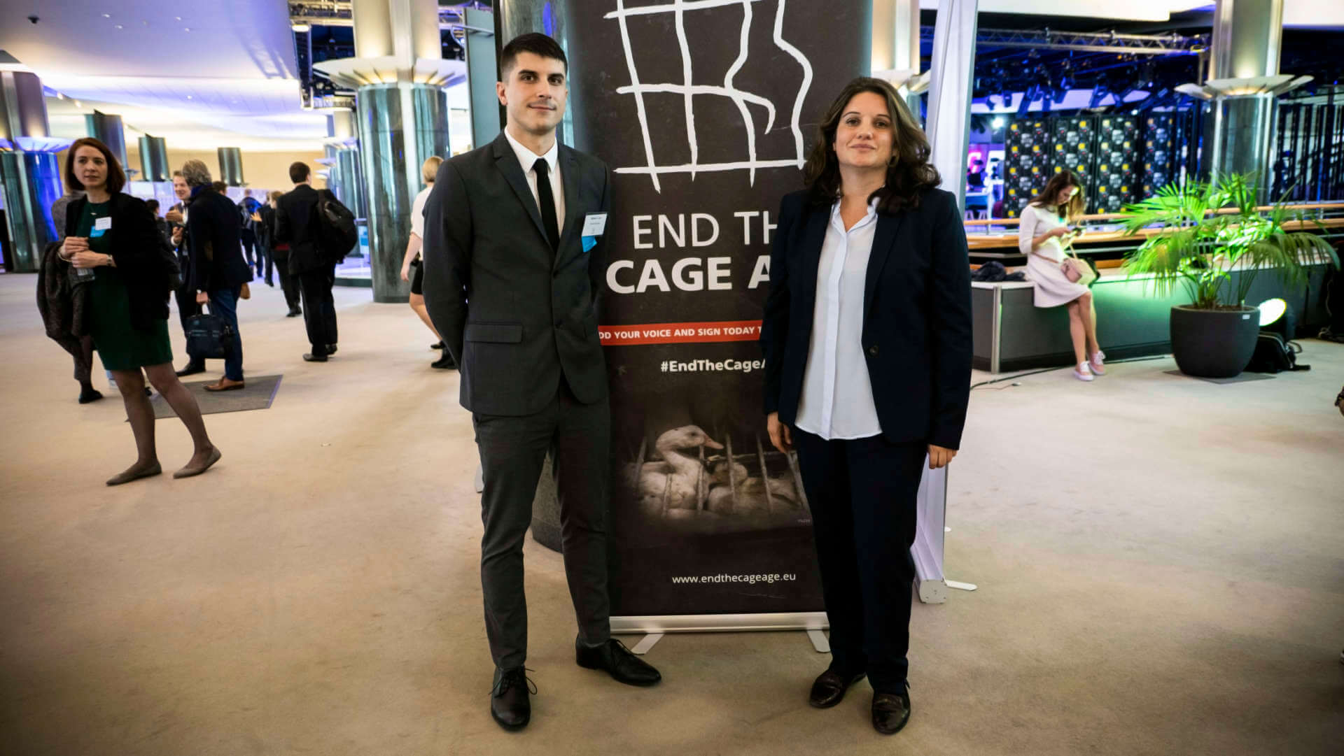 Animal Equality parlamento europeo End the Cage Age basta gabbie
